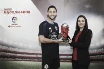 Florin Andone, mejor jugador de La Liga Santander del mes de diciembre
