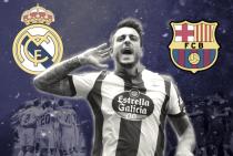 """Joselu Mato, el """"marcagigantes"""" del Deportivo de La Coruña"""