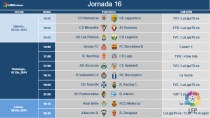 El Real Valladolid continúa conociendo horarios