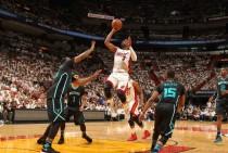 Miami Heat barre a Charlotte Hornets en el séptimo encuentro