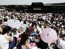 Wimbledon 2015: Hottest day ever recorded at the championships