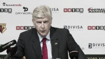 """Wenger: """"Estoy muy satisfecho con nuestro rendimiento en la primera mitad"""""""