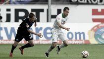 Paderborn y Werder se reparten el botín