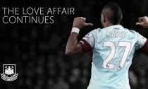 Payetrenueva con el West Ham hasta 2021