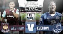 Resultado West Ham vs Everton, Premier League 2015 (1-1): empate a todo en Boleyn Ground