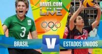 Resultado do jogo Brasil x Estados Unidos no vôlei sentado feminino na Rio 2016 (0-3)
