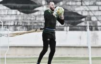Recuperado de lesão, goleiro Edson Kölln volta a brigar pela titularidade no Santa Cruz