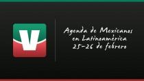 Agenda de mexicanos en Latinoamérica: tres duelos de aztecas