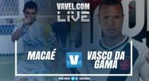 Resultado Macaé x Vasco na Taça Rio 2017 (2-2)