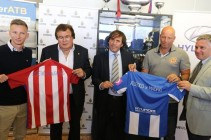 El Atlético Baleares estrecha la mano con el Atlético de Madrid