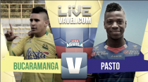 Bucaramanga vs Deportivo Pasto en vivo online en Liga Águila 2017 (1-0)