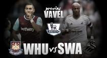Previa West Ham - Swansea City: a martillazo limpio
