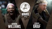 Roland Garros 2016: la sombra de Steffi Graf es alargada