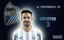 Málaga 2014/2015: La temporada de Weligton Pena de Oliveira