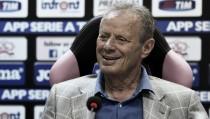 """Zamparini assicura: """"Novellino non a rischio. Annata disgraziata per il Palermo"""""""