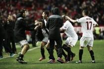 Jovetic marca no fim, Sevilla acaba com série invicta do Real Madrid e retorna à vice-liderança
