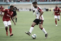 Wallyson marca dois golaços e Vila Nova vence Flamengo em amistoso