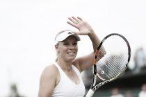 Wozniacki, próxima rival de Garbiñe en Wimbledon