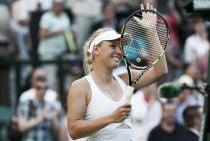 Wozniacki, contundente en su debut