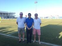 El Lorca FC de Xu Genbao va tomando forma