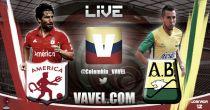 América de Cali vs Atlético Bucaramanga en vivo y en directo online en el Torneo Águila 2015