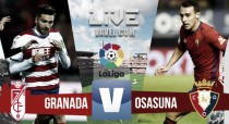 Resumen Granada 1-1 Osasuna en La Liga 2017