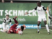FC Kaiserslautern 1-0 SV Sandhausen: Hofmann's header gives the Red Devils victory