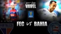 Embalados, Fortaleza e Bahia duelam pelo jogo de ida das quartas do Nordestão