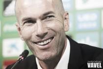 """Zidane manda un recado a James: """"Es igual que el resto"""""""
