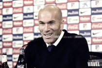 """Zinedine Zidane: """"Podemos estar satisfechos,esto va a ser difícil hasta el final"""""""