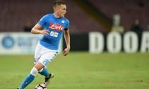 Napoli al Sant'Elia con il turnover a metà: c'è Gabbiadini, torna Zielinski dal primo minuto
