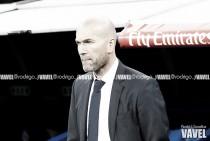 """Zinedine Zidane: """"No es fácil lo que estamos haciendo"""""""