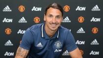 """Ibrahimovic, al llegar al Manchester: """"Soy el más feliz del mundo"""""""
