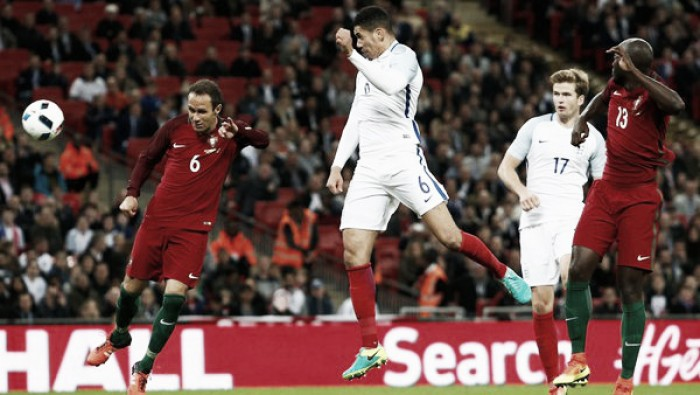 Manchester United International Watch: Chris Smalling scores for England as Wayne Rooney captains