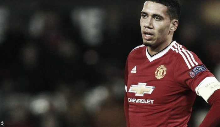 Chris Smalling rues Liverpool's equaliser just before half-time