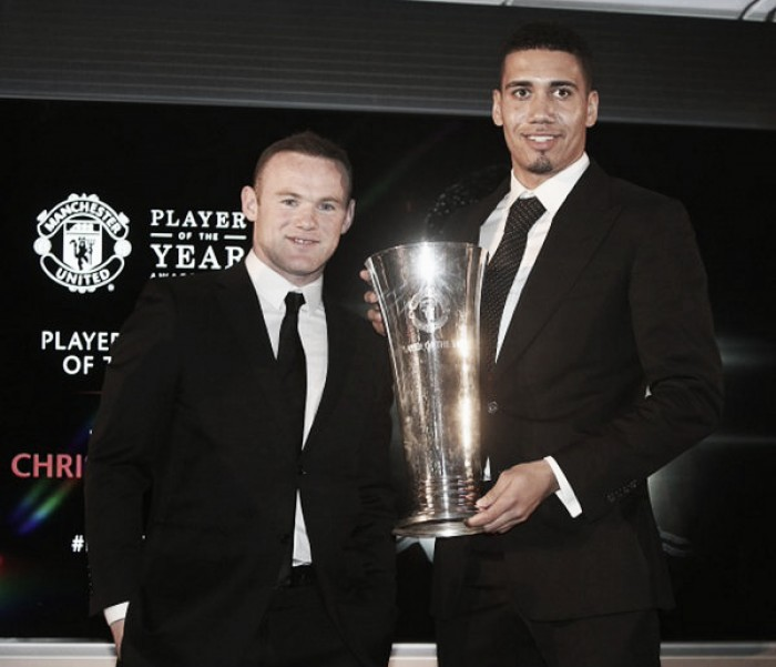 Chris Smalling named Players' Player of the Year at Manchester United awards