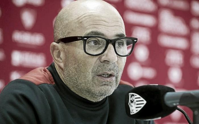 """Jorge Sampaoli: """"Jugar así contra un grande enaltece a este grupo"""""""