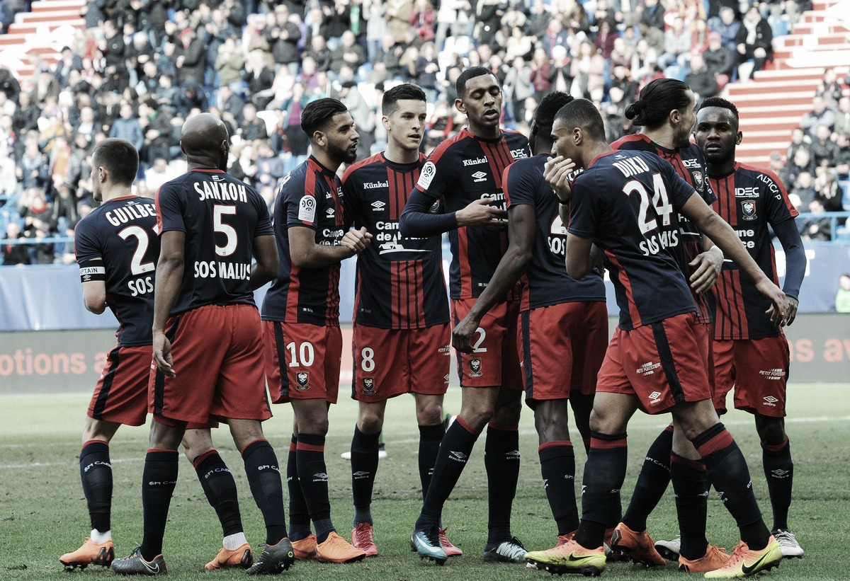 Caen bate Strasbourg e se afasta da zona de rebaixamento na Ligue 1