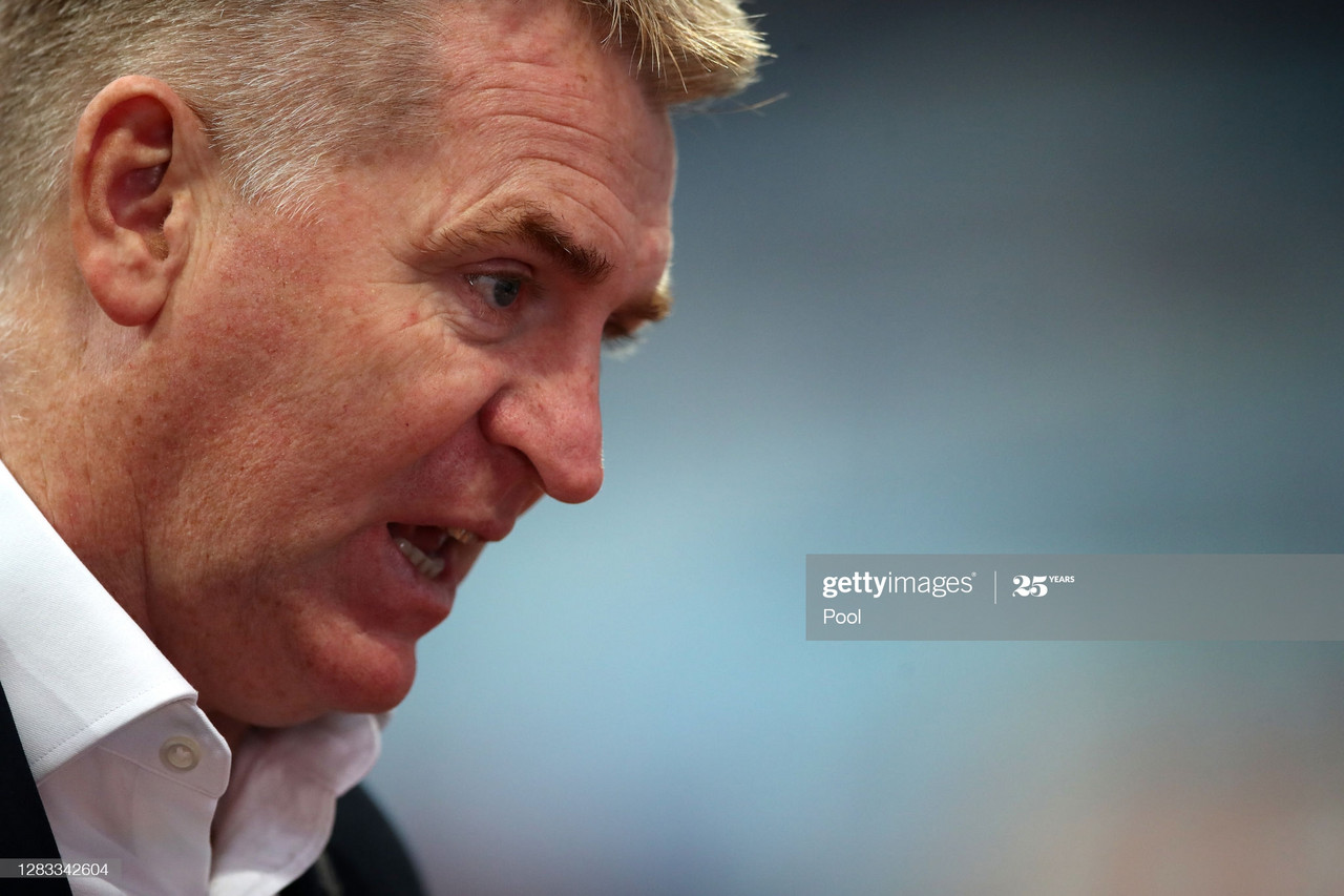 The five key quotes from Dean Smith's post-Southampton press conference