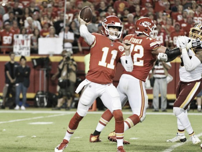 Kansas City Chiefs remain unbeaten with tight win over Washington Redskins