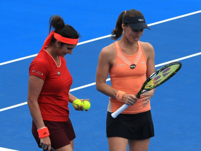 The Daily Doubles: Martina Hingis and Sania Mirza Get Record Breaking Win in Sydney