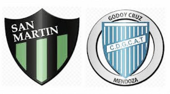 San Martín 1 -Godoy Cruz 2