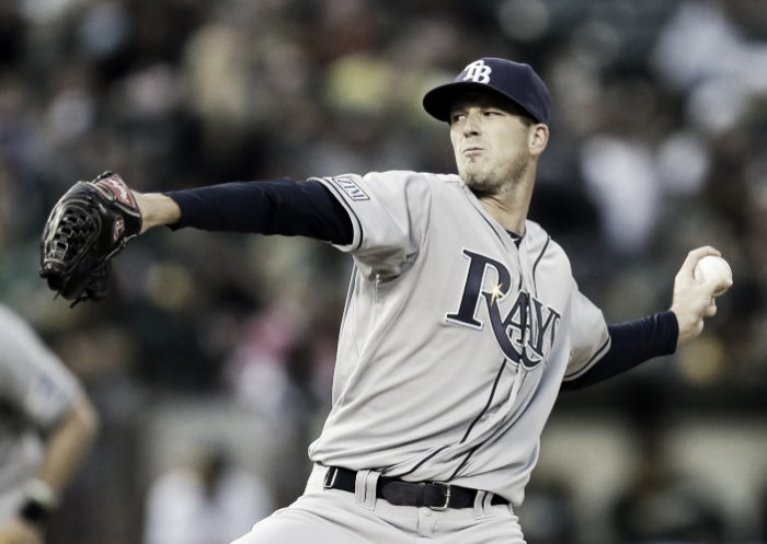 Kevin Keirmaier propels Tampa Bay Rays in extras after Drew Smyly's master class
