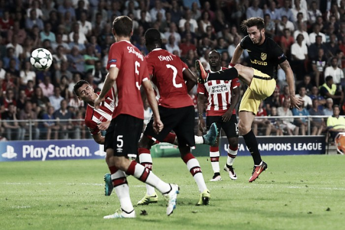 PSV Eindhoven 0-1 Atletico Madrid: Simeone's men win in their trademark way
