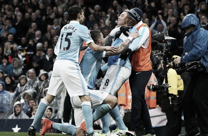 Manchester City 2-1 West Bromwich Albion: Nasri's second-half strike enough to secure three points