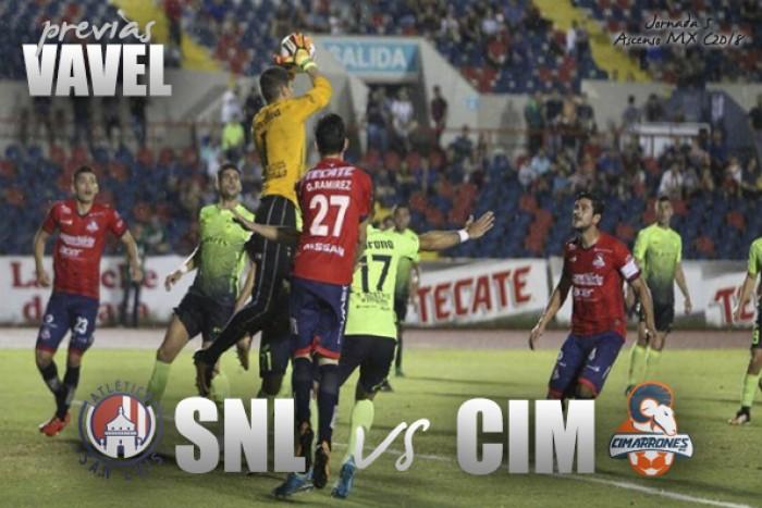 Previa San Luis - Cimarrones: jornada doble en Ascenso MX