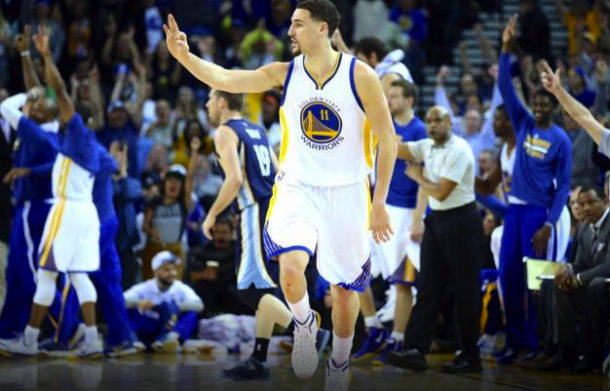Klay Thompson's 42 Helps Guide Golden State Warriors Past Memphis Grizzlies