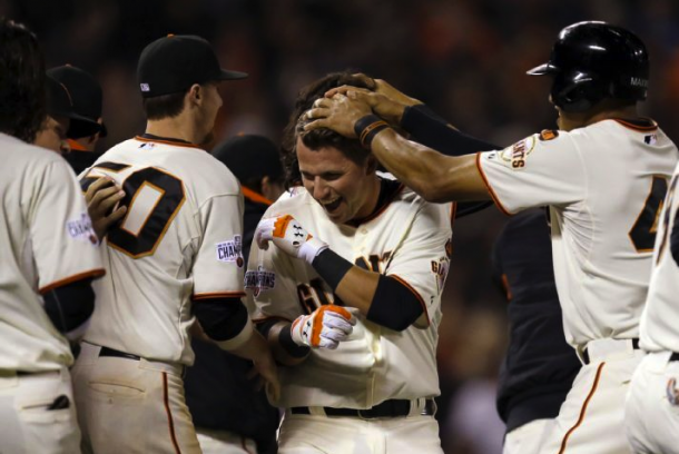 SF Giants Take Series Over Dodgers In Panik's Walkoff