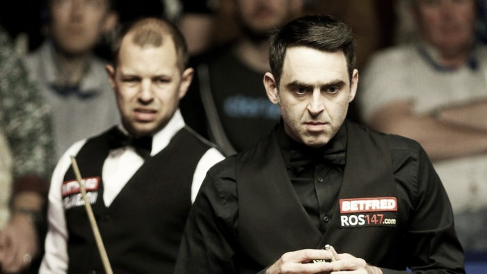 The Rocket crash lands as just two top ten players make the last eight at the Crucible