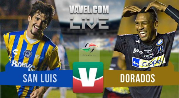 Resultado San Luis - Dorados en Final Ascenso MX 2015 (1-0)